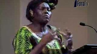 Wangari Maathai - Resources and Conflict