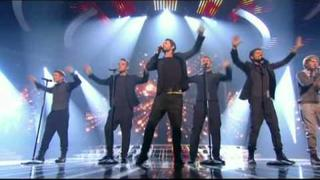 X Factor 2010 live show final - The Finalists and Take That