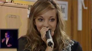 X-Factor Winner - Jade Thirlwall - Little Mix sings Beyonce Knowles - Ave Maria