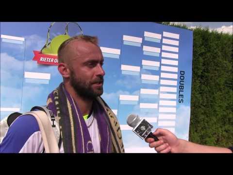 Roman Jebavý po výhře v prvním kole kvalifikace na turnaji Futures