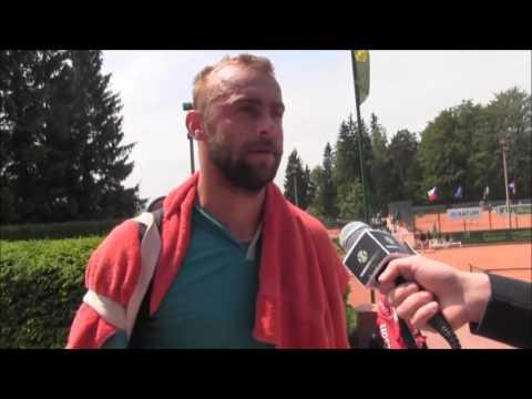 Roman Jebavý po vyřazení v prvním kole turnaje Futures v Jablonci n. N.