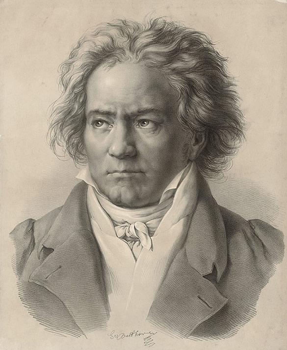 Ludwig Van Beethoven Fotka