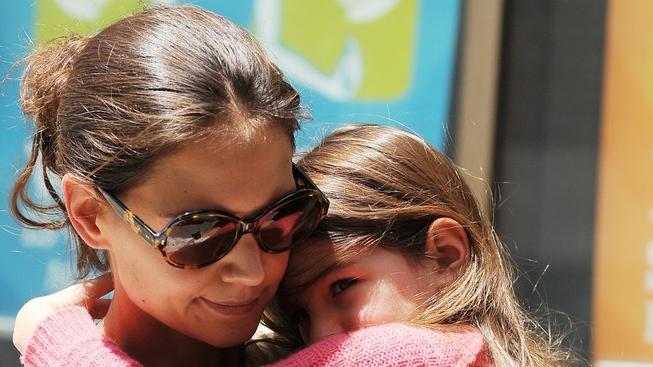 Katie Holmesová s dcerou Suri