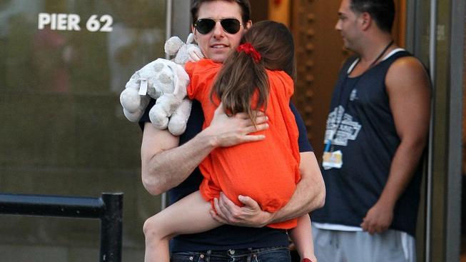 Tom Cruise s šestiletou dcerou Suri