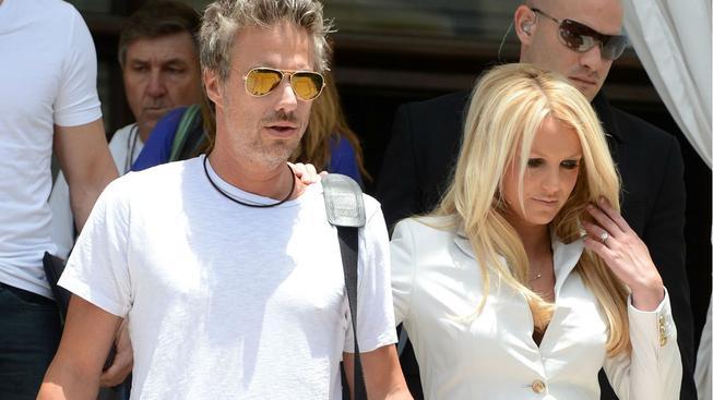 Britney Spears a Jason Trawick