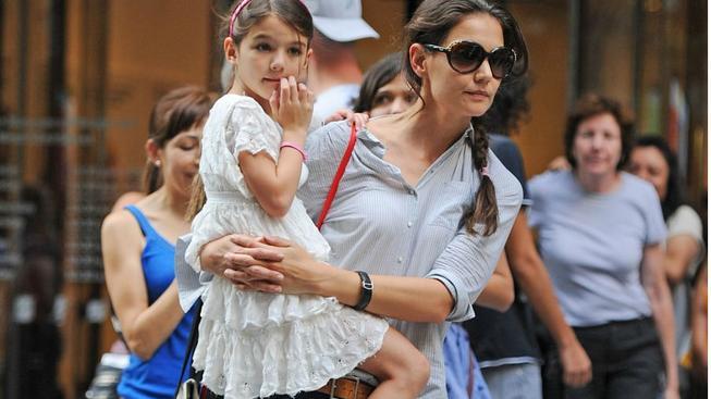 Katie Holmes s dcerou Suri