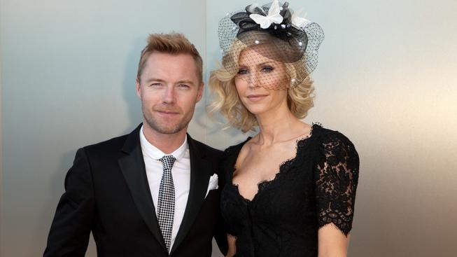 Ronan Keating s exmanželkou