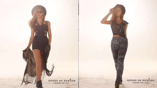 Beyoncé v kampani značky House of Dereón