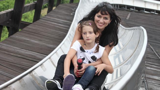 Adéla Gondíková s dcerou