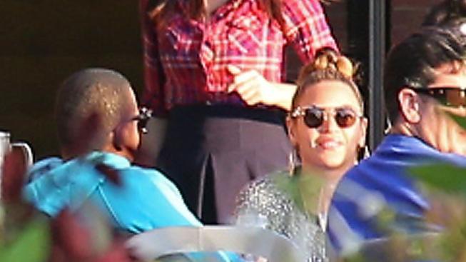 Jay-Z a Beyoncé na obědě