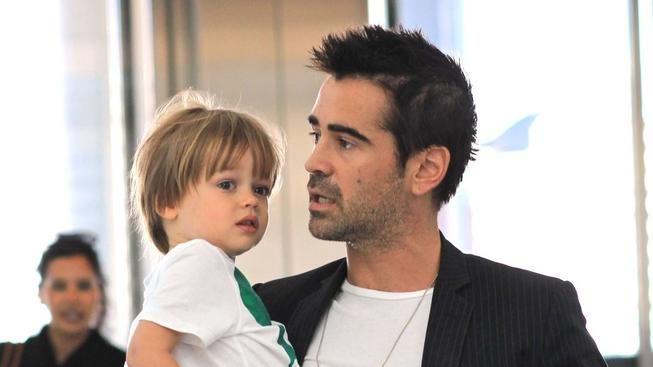 Colin Farrell se synem