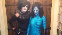Jodie Marsh se převlékla za Na'vi z Avatara