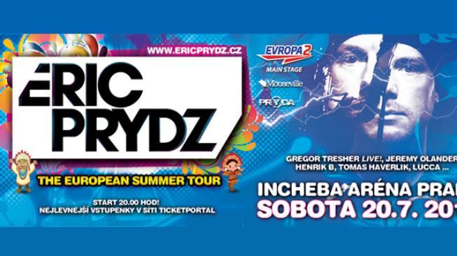 Eric Prydz v Praze