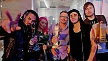 Žebřík 2013 Bacardi Music Awards: Skupinou roku jsou Mandrage, nejvíc cen má Kryštof