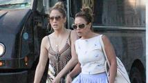 Jennifer Lopez a Leah Remini měly autonehodu