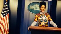 """Rihanna o návštěvě Bílého domu: """"Co se mi líbilo nejvíc? Že můj prezident je černý!"""""""