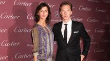 Benedict Cumberbatch a Sophie Hunter čekají první dítě
