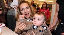 Lucie Vondráčková se stala dvojnásobnou maminkou