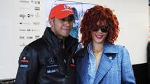 Nový pár? Rihanna prý randí s Lewisem Hamiltonem