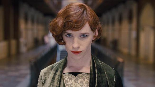 Eddie Redmayne ve filmu Dánská dívka