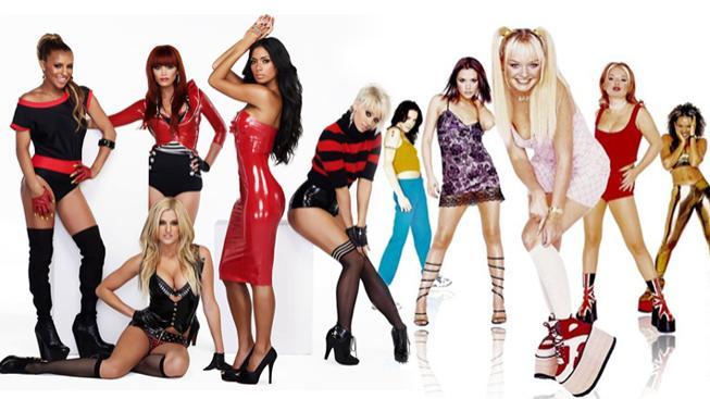 Pussycat Dolls a Spice Girls