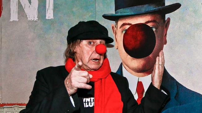 Boris Hybner na premiéře svého posledního filmu Klauni