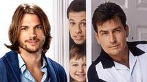 Ashton Kutcher nebo Charlie Sheen? Kdo je lepší v seriálu Dva a půl chlapa?