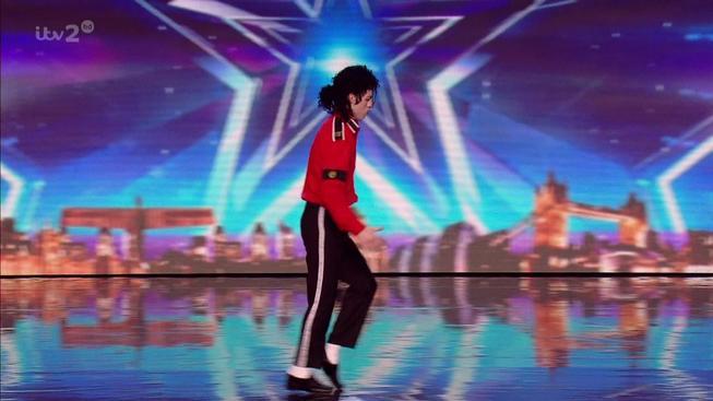 imitátor Michaela Jacksona