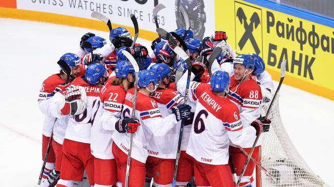 Hokej - MS 2016 Moskva - ČR