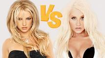Dnes si to spolu rozdají krasavice Britney Spears a Christina Aguilera