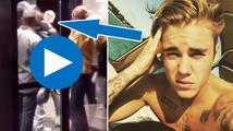 Justin Bieber dostal nakládačku, Kylie Jenner ukázala bradavky