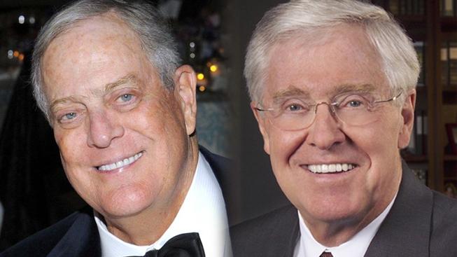 David Koch a Charles Koch