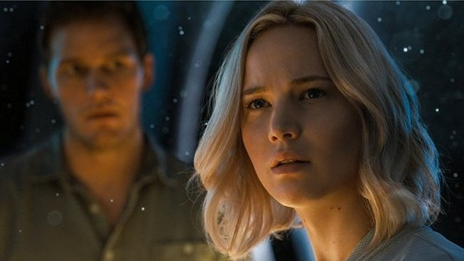 Jennifer Lawrence, Chris Pratt - Pasažéři