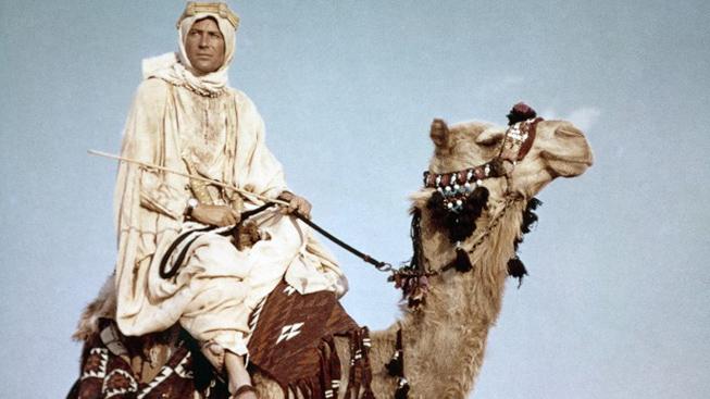 Peter O'Toole, film Lawrence z Arábie