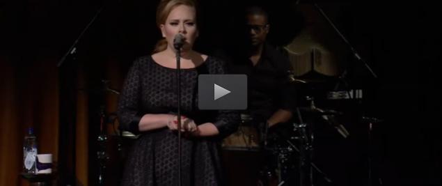 Adele - karaoke
