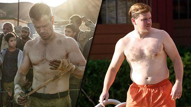 Matt Damon a jeho proměny