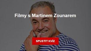 Kviz: Filmy s Martinem Zounarem
