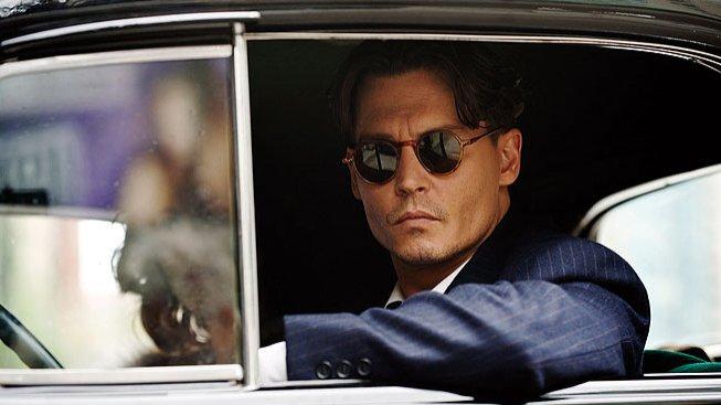 Johnny Depp ve filmu Veřejní nepřátelé