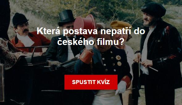 Kvíz: Která postava nepatří do českého filmu?