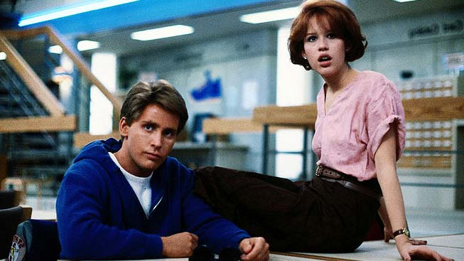 Emilio Estevez, Molly Ringwald - The Breakfast Club