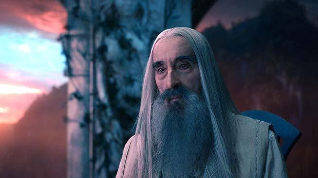 Christopher Lee - Hobbit: Neočekávaná cesta