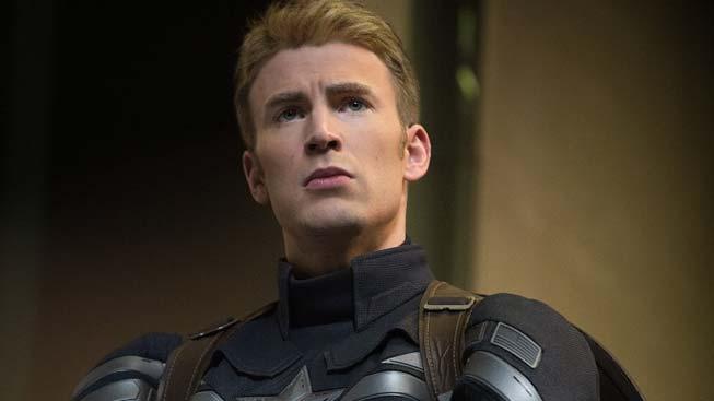 Chris Evans - Captain America: Návrat prvního Avengera