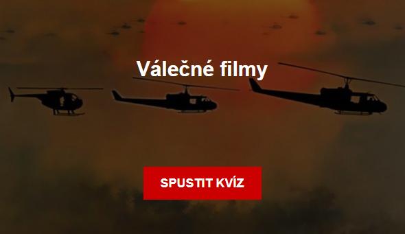 Kvíz - Válečné filmy