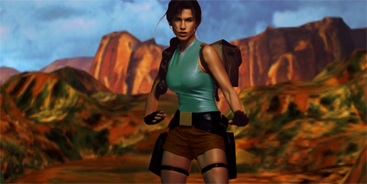 Rhona Mitra - Lara Croft