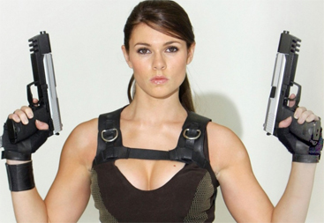 Alison Carroll - Lara Croft