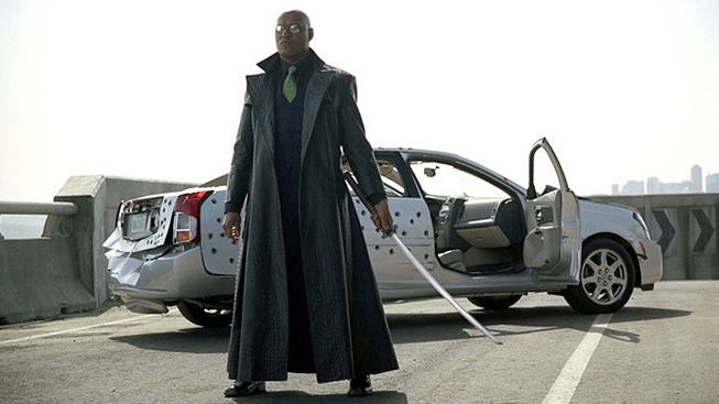 Matrix Reloaded - Laurence Fishburne