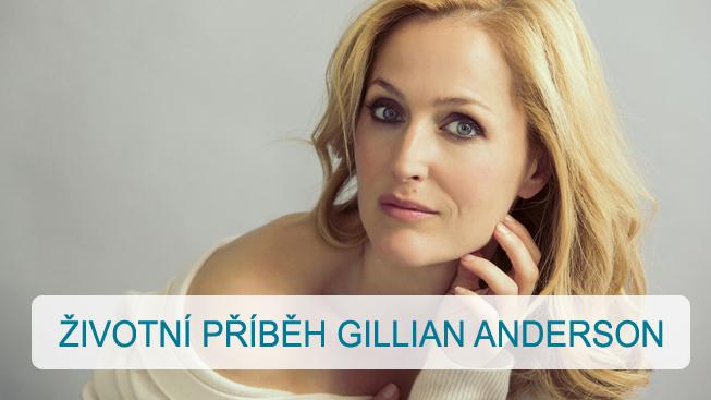 Životní příběh Gillian Anderson