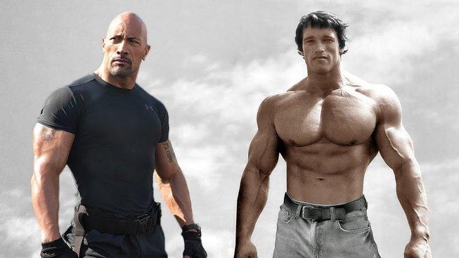 Dwayne Johnson, Arnold Schwarzenegger