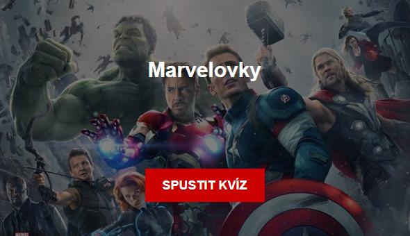 Kvíz: Marvelovky