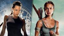 Angelina Jolie, nebo Alicia Vikander? Která ztvárnila Laru Croft lépe?